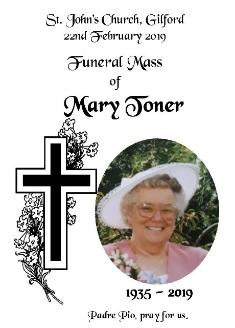 Funeral Mary Toner Large Web view